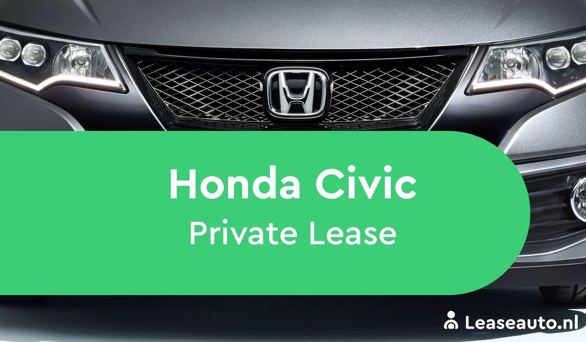 honda civic private lease