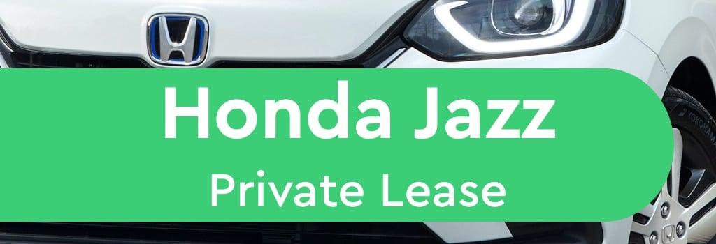 honda jazz private lease