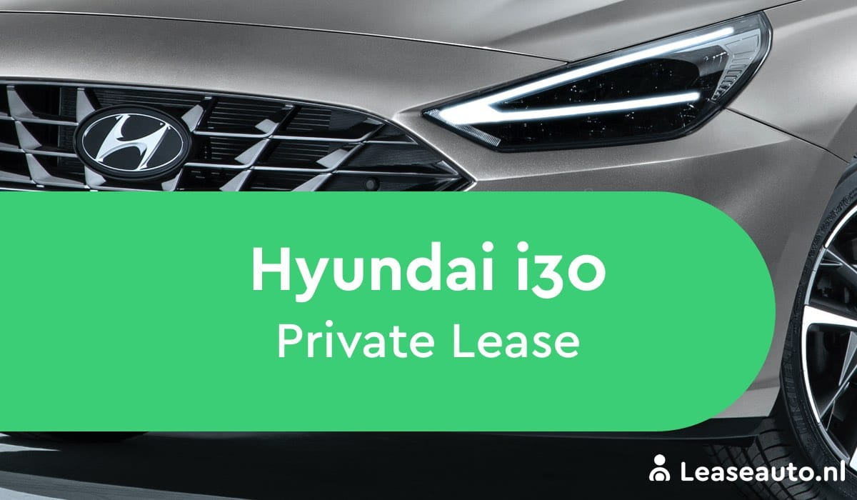 hyundai i30 private lease