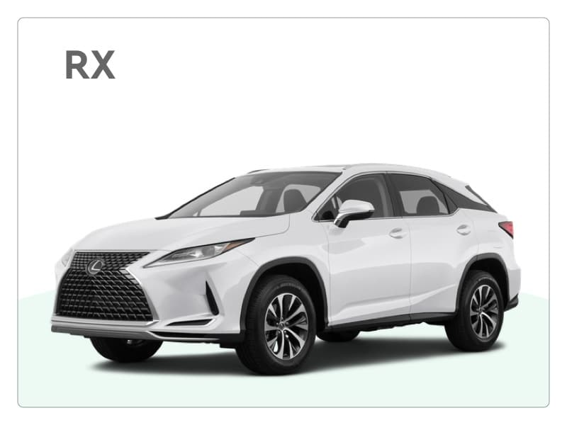 lexus rx private lease