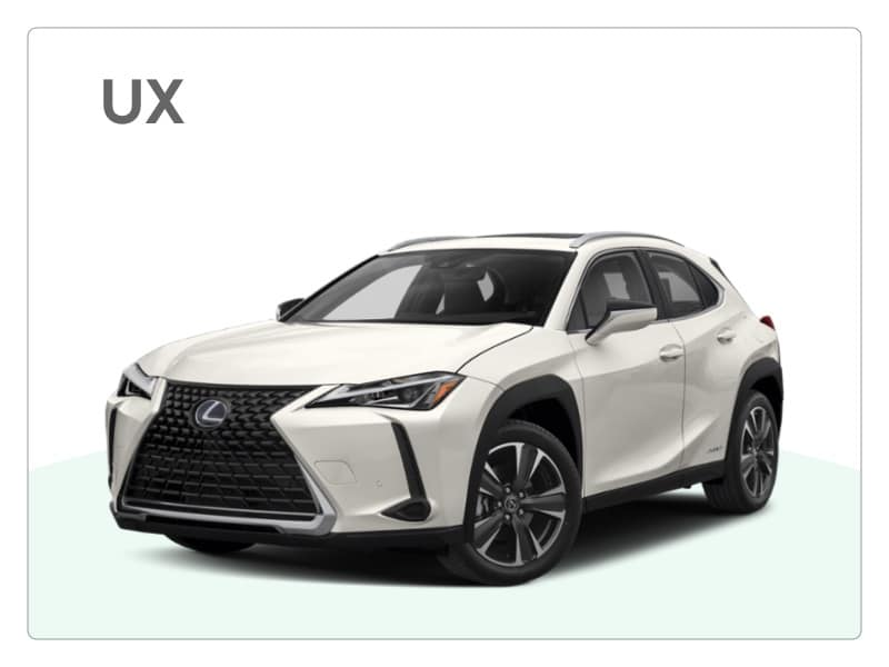 lexus ux private lease