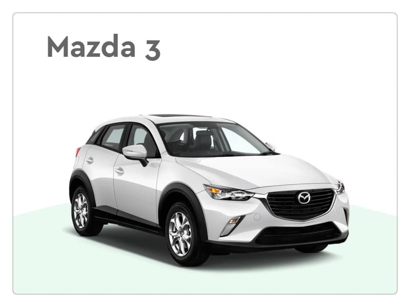 mazda 3 private lease