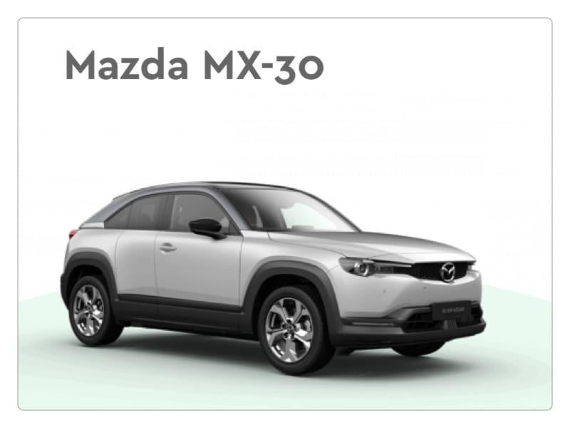 mazda mx 30 private lease
