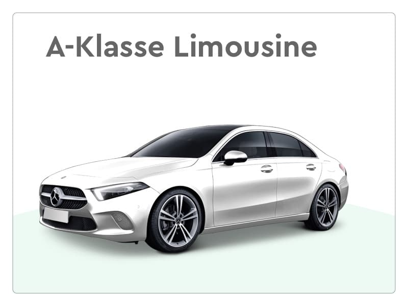 mercedes benz a-klasse limousine private lease