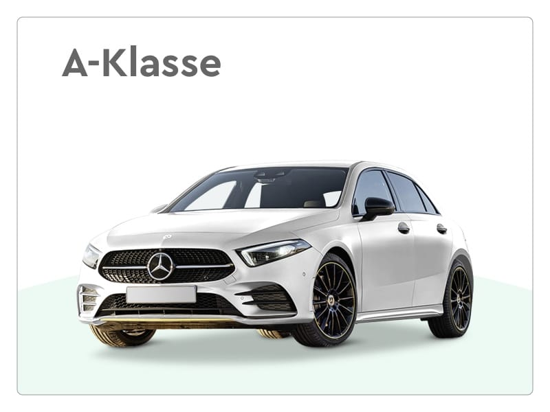 mercedes benz a-klasse private lease
