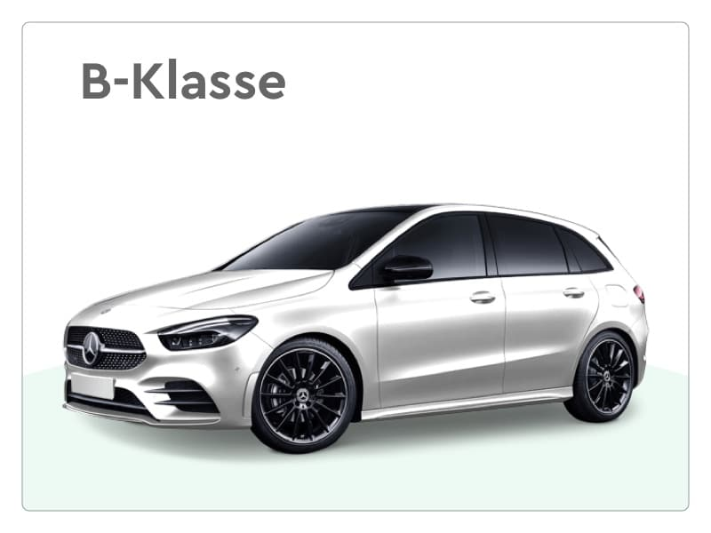 mercedes benz b-klasse limousine private lease