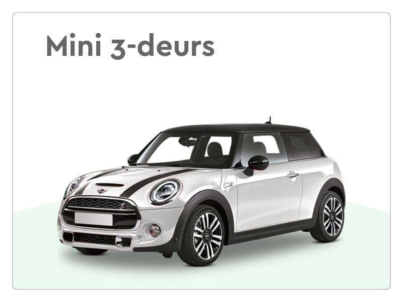 mini 3 deurs private lease