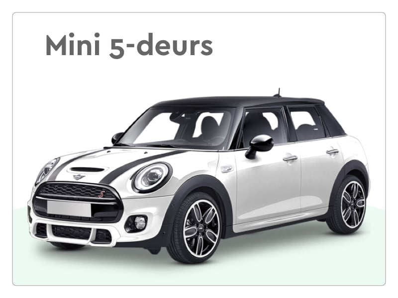 mini 5 deurs private lease