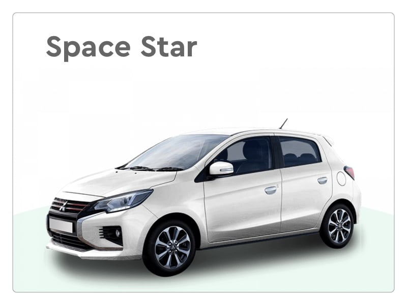 mitsubishi space star private lease
