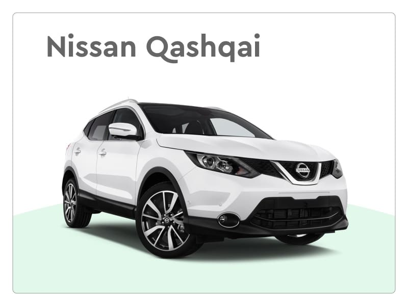 nissan qashqai private lease