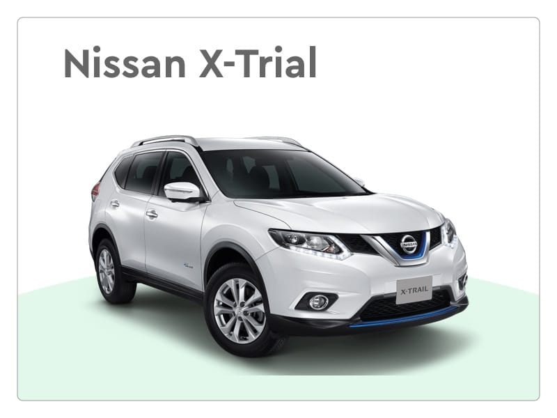 nissan x-trial private lease