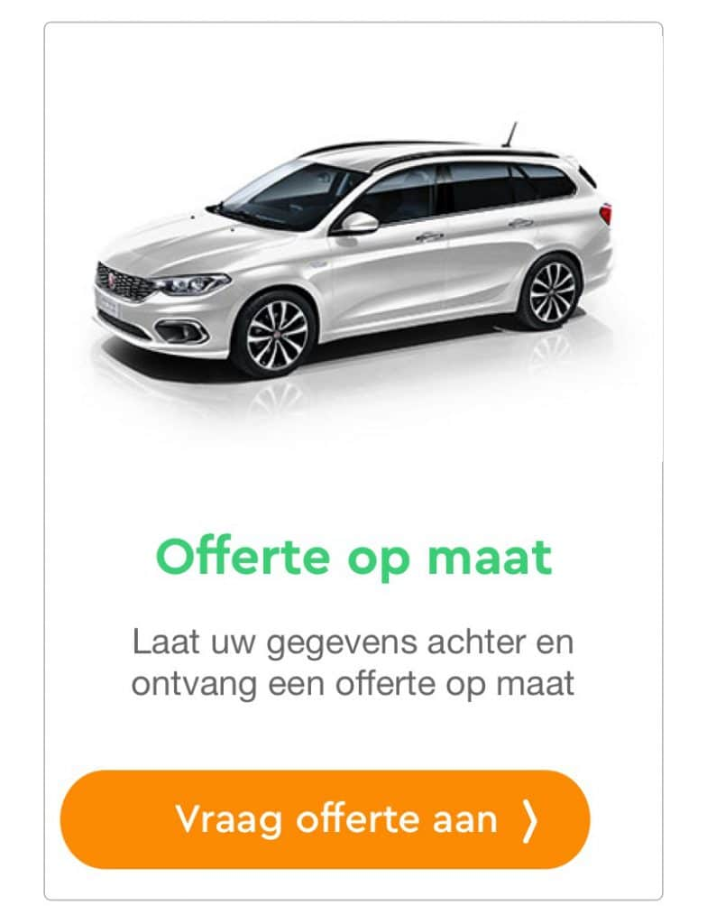 fiat tipo offerte aanvraag private lease