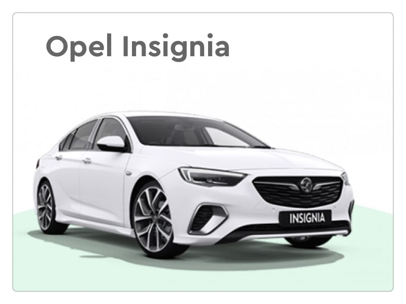 opel insignia private lease