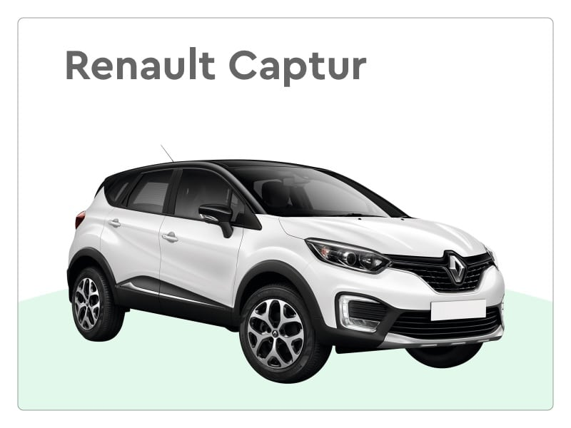 renault Captur private lease