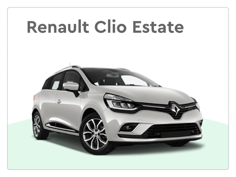 renault Clio Estate private lease
