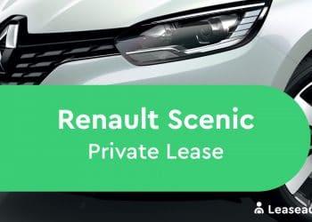 renault scenic Private Lease
