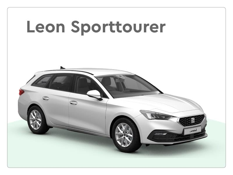 seat leon sporttourer private lease