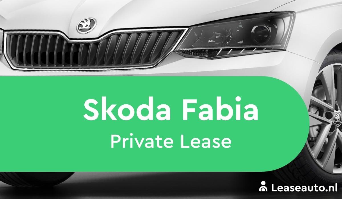 skoda fabia private lease