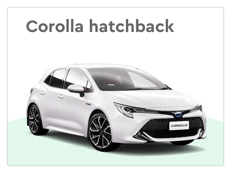 toyota corolla private lease