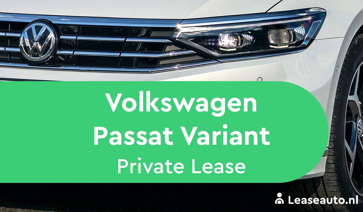 volkswagen passat variant private lease