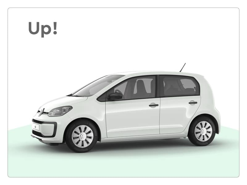 volkswagen up! private lease