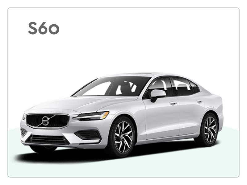 volvo s60 private lease