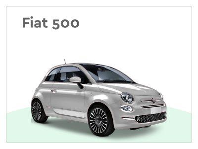 Fiat 500 kleine private lease auto