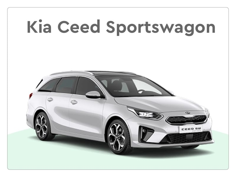 Kia Ceed Sportswagon private lease stationwagon
