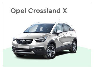opel crossland x private lease SUV