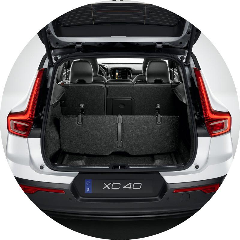 Bagageruimte Volvo XC40