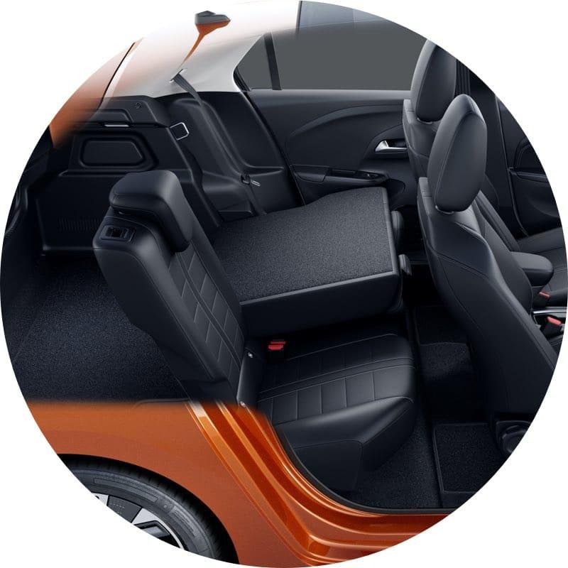 Bagageruimte Opel Corsa