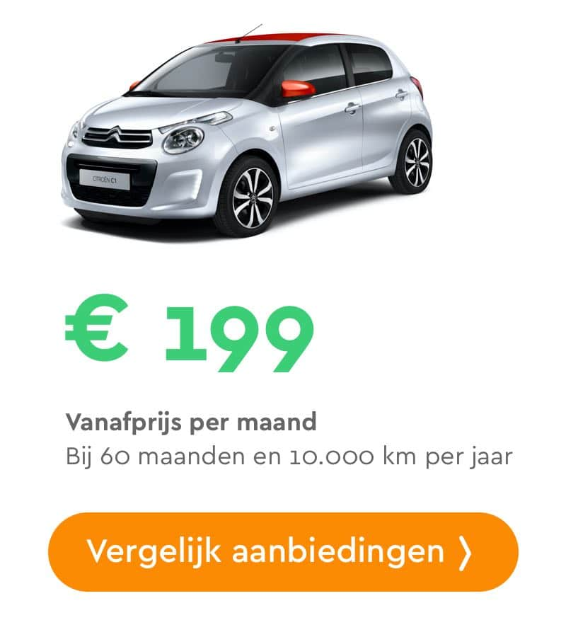 Citroën C1 private lease aanbieding