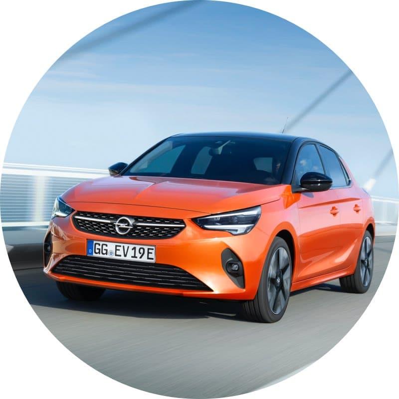 Design Elektrische Opel Corsa-e prive lease