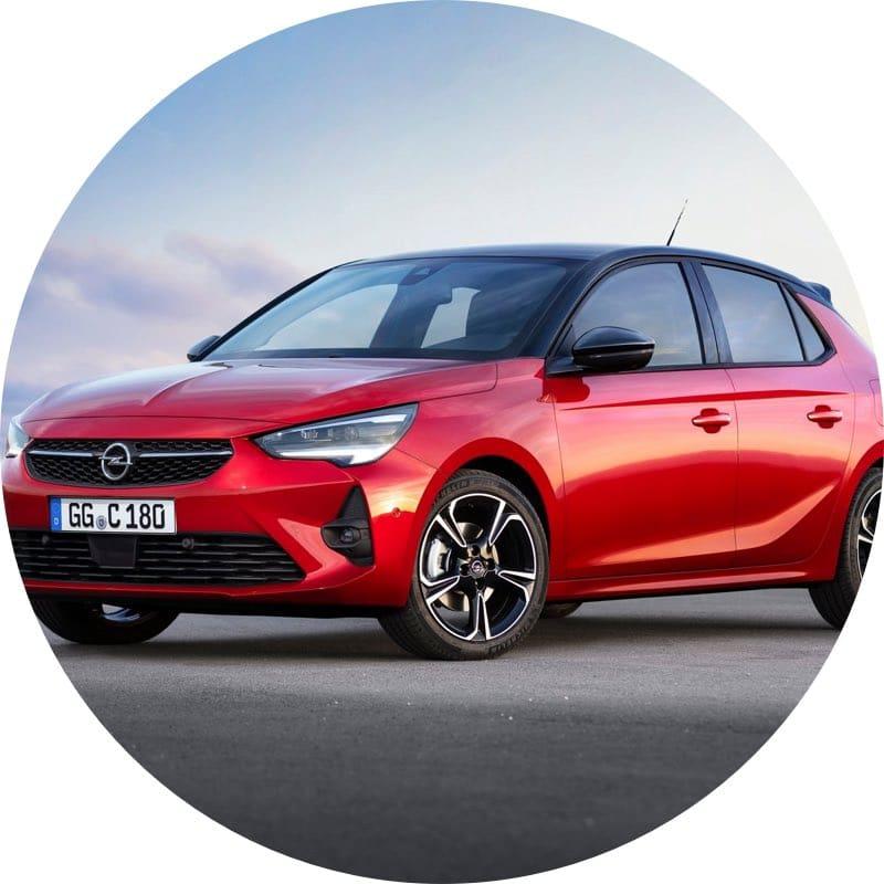 Design Opel Corsa prive lease