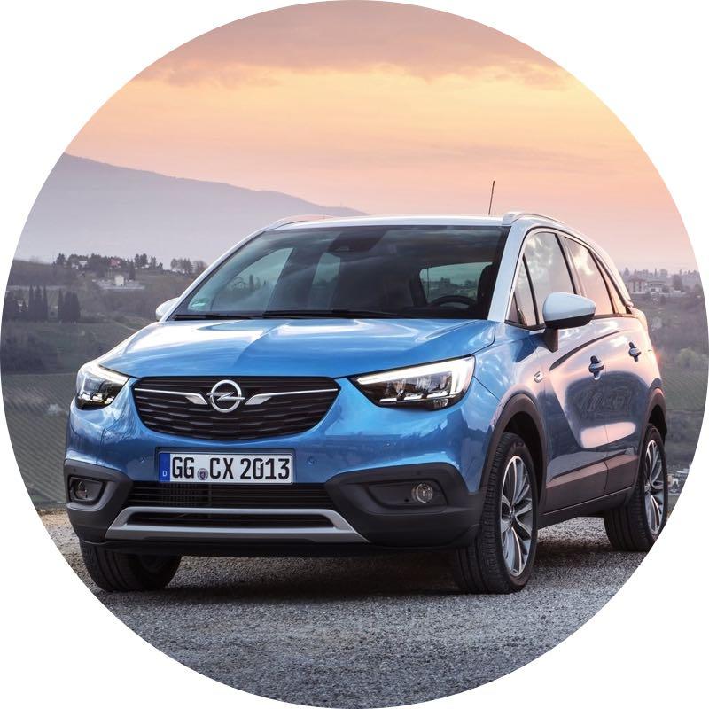 Design Opel Crossland X prive lease