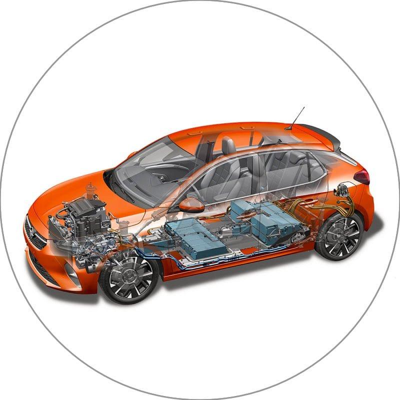Elektrische Opel Corsa-e private lease