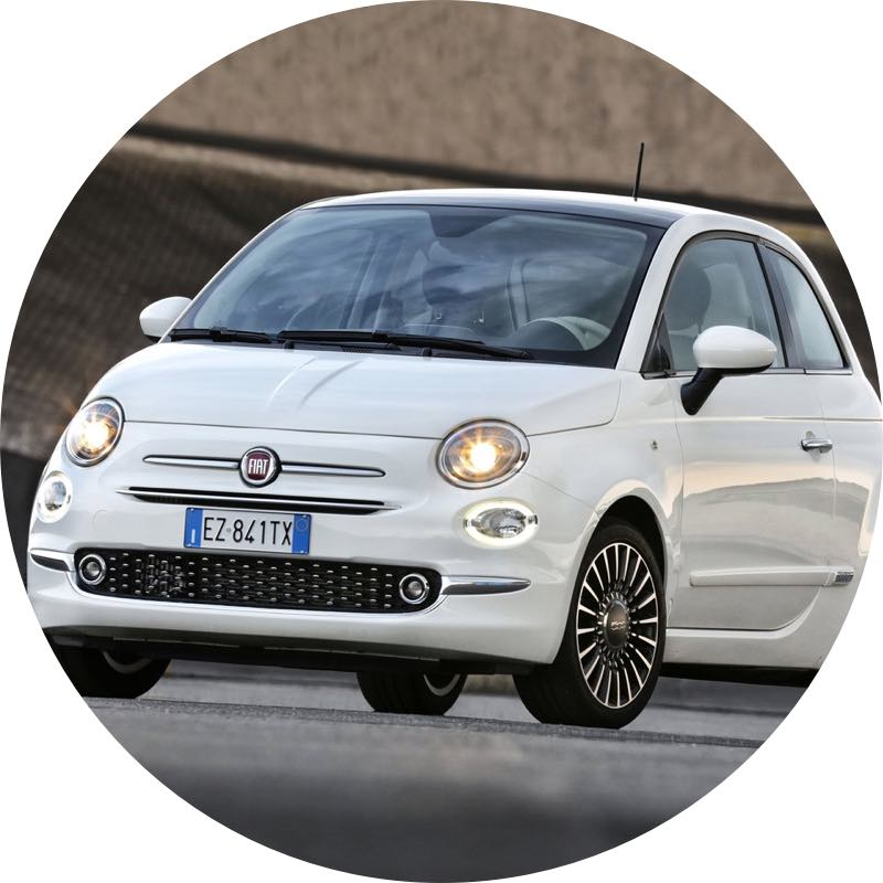 Fiat 500 private lease goedkoopste