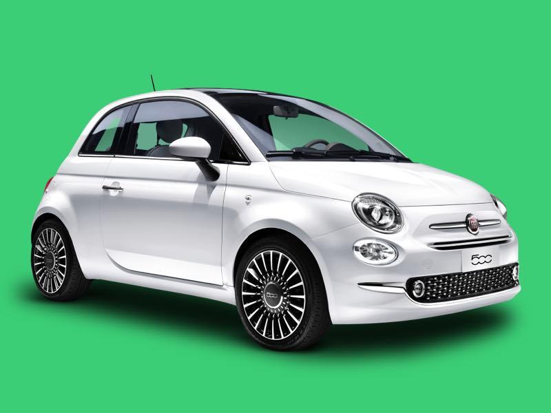 Fiat 500 prive lease aanbieding