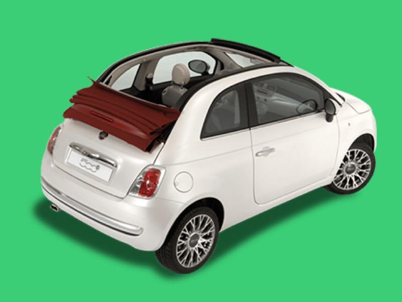 Fiat 500C Prive Lease Aanbieding