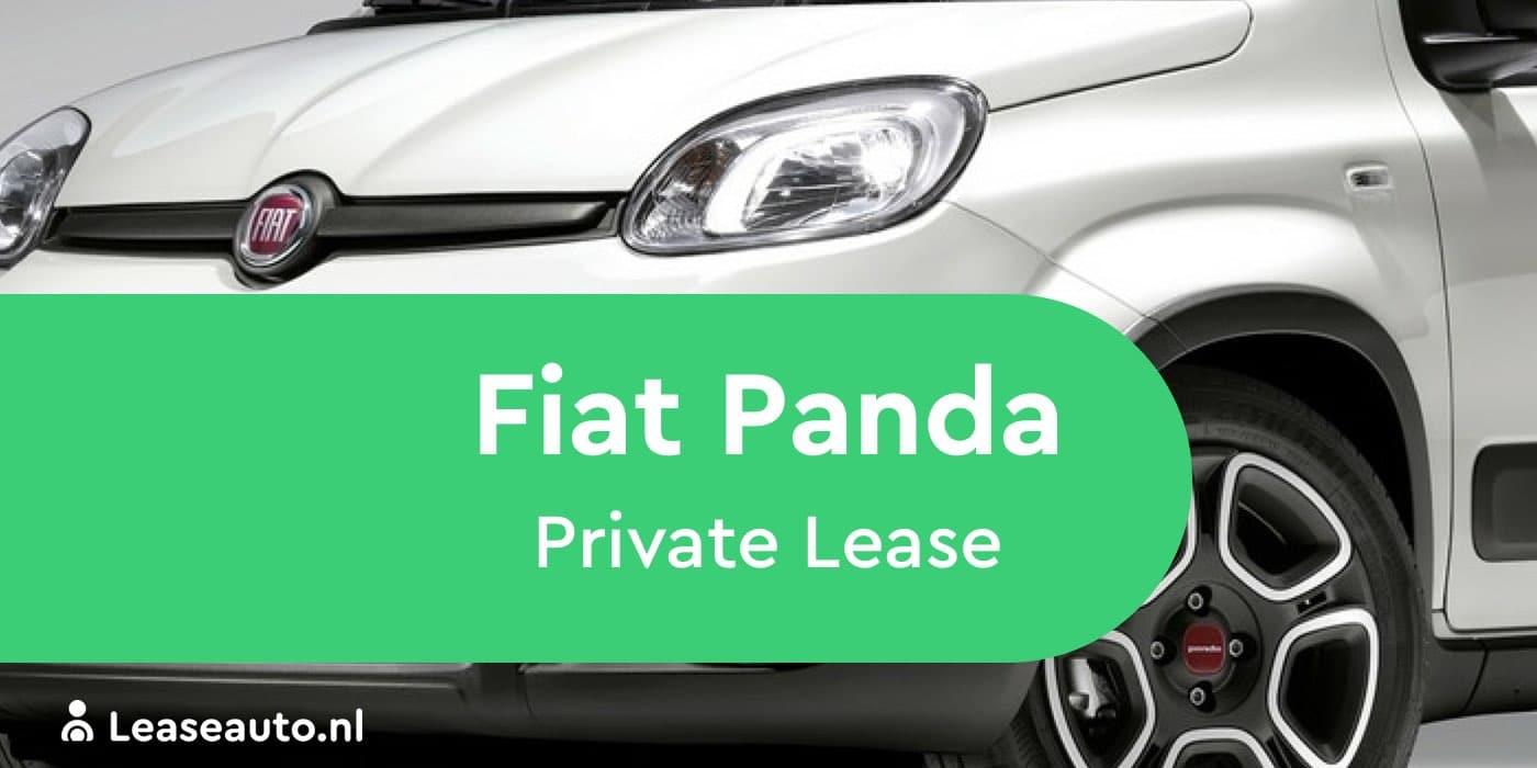 Fiat Panda private lease