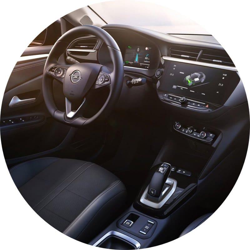 Interieur Elektrische Opel Corsa-e