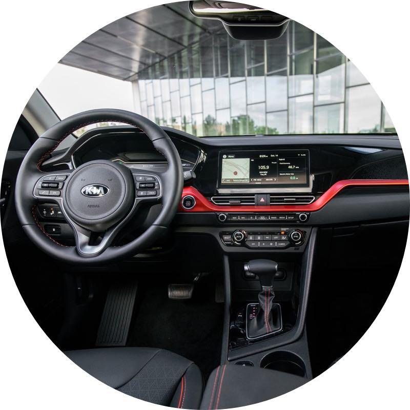 Interieur Kia Niro Hybrid