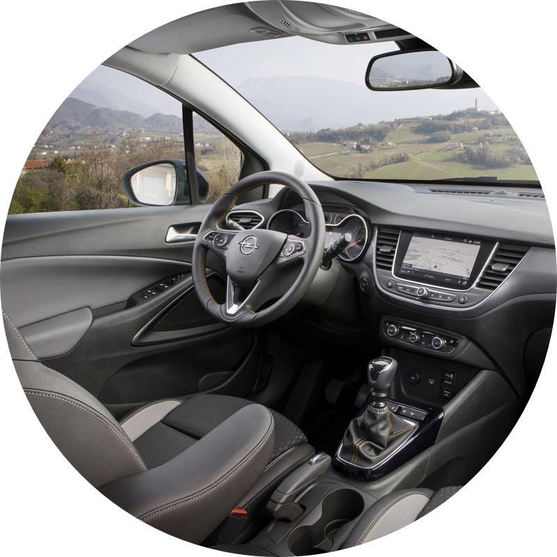 Interieur Opel Crossland X