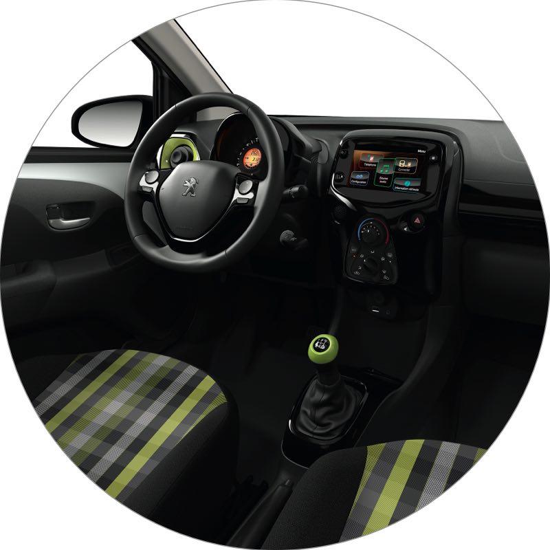 Interieur Peugeot 108