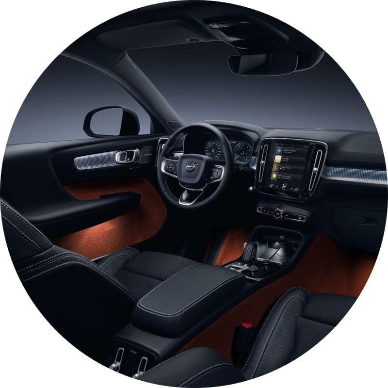 Interieur Volvo XC40 Prive Lease