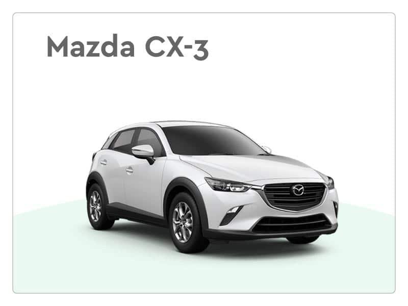 Mazda cx-3 private lease auto
