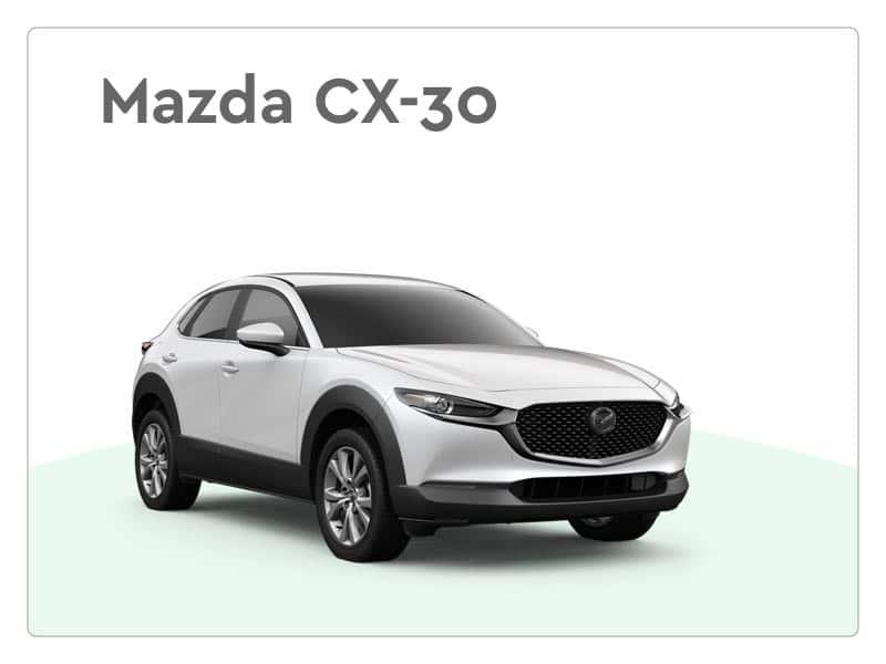 Mazda cx-30 private lease auto