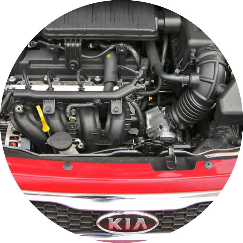 Motor Kia Picanto private lease