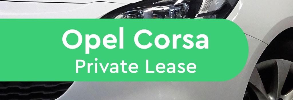 Opel Corsa private lease