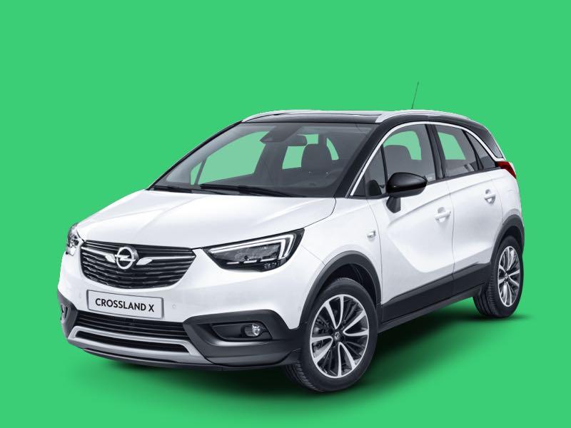 Opel Crossland X Prive Lease Aanbieding